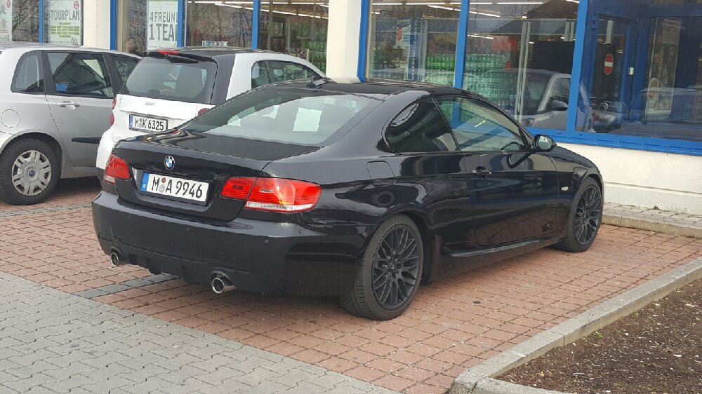 E92 335i Coupe black/black ///M-Performance - 3er BMW - E90 / E91 / E92 / E93
