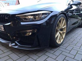 BMW M Performance VS Felge in 9x19 ET  mit Michelin Pilot Cup 2 Reifen in 265/35/19 montiert vorn mit 12 mm Spurplatten Hier auf einem 4er BMW F82 M4 (Coupe) Details zum Fahrzeug / Besitzer