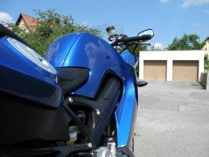 BMW K71 F800ST Blau Metallic GoPro 3+ Navigator V - Fotostories weiterer BMW Modelle