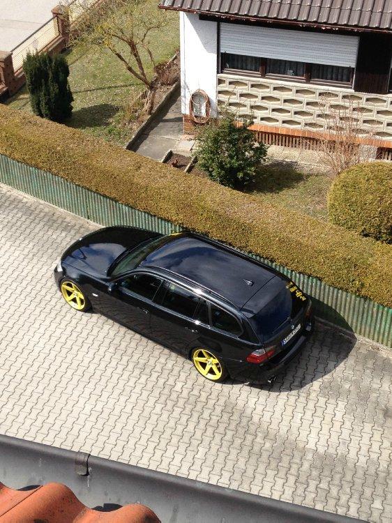 Black And Yellow 325i 3er Bmw E90 E91 E92 E93 Quot Touring Quot Tuning Fotos