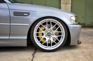 BMW Styling 163 Felge in 8x19 ET 47 mit Falken FK453 Reifen in 215/35/19 montiert vorn mit 35 mm Spurplatten Hier auf einem 3er BMW E46 330i (Coupe) Details zum Fahrzeug / Besitzer