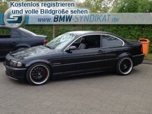346ci 3er bmw e46 coupe tuning fotos bilder stories. Black Bedroom Furniture Sets. Home Design Ideas