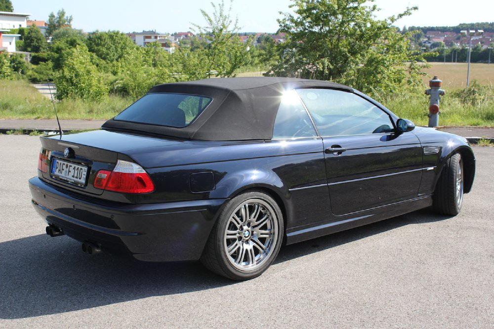 bmw e46 m3 cabrio in carbonschwarz 3er bmw e46 m3. Black Bedroom Furniture Sets. Home Design Ideas