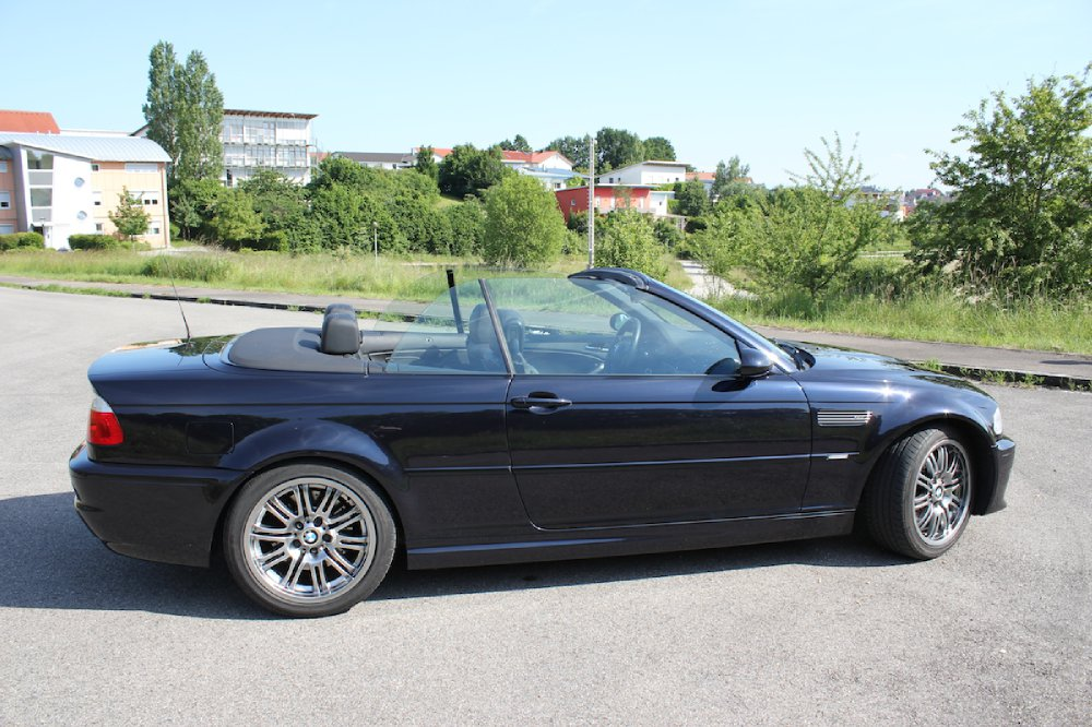 bmw e46 m3 cabrio in carbonschwarz 3er bmw e46 m3 tuning fotos bilder stories. Black Bedroom Furniture Sets. Home Design Ideas