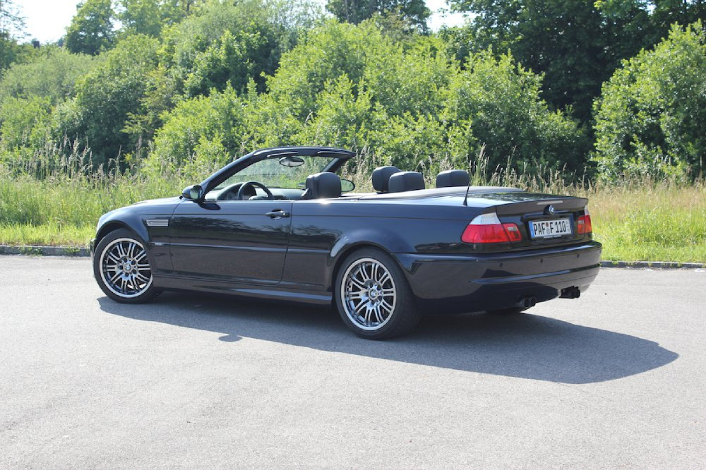 bmw e46 m3 cabrio in carbonschwarz www bmw. Black Bedroom Furniture Sets. Home Design Ideas