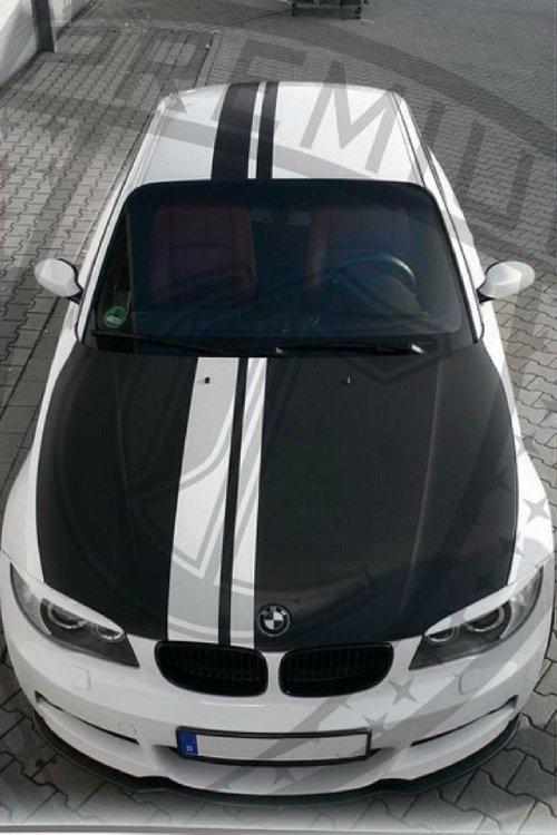 Mein weißes Baby im Tii Style - 1er BMW - E81 / E82 / E87 / E88