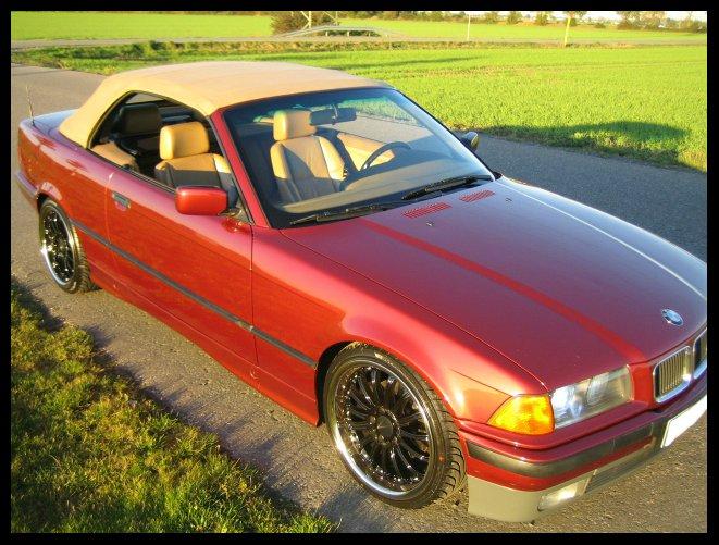 325i e36 Classic Convertible *OEM Navi, Pappel* - 3er BMW - E36
