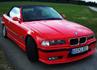 Rote Hölle [BMW 320i Cabrio]