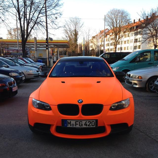 M3 E92 Neon Orange 3er Bmw E90 E91 E92 E93 M3