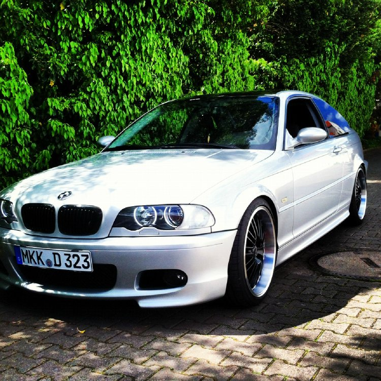 2000 Bmw 323 Coupe: E46 323 Coupe Dezent, Tief & Silber! [ 3er BMW