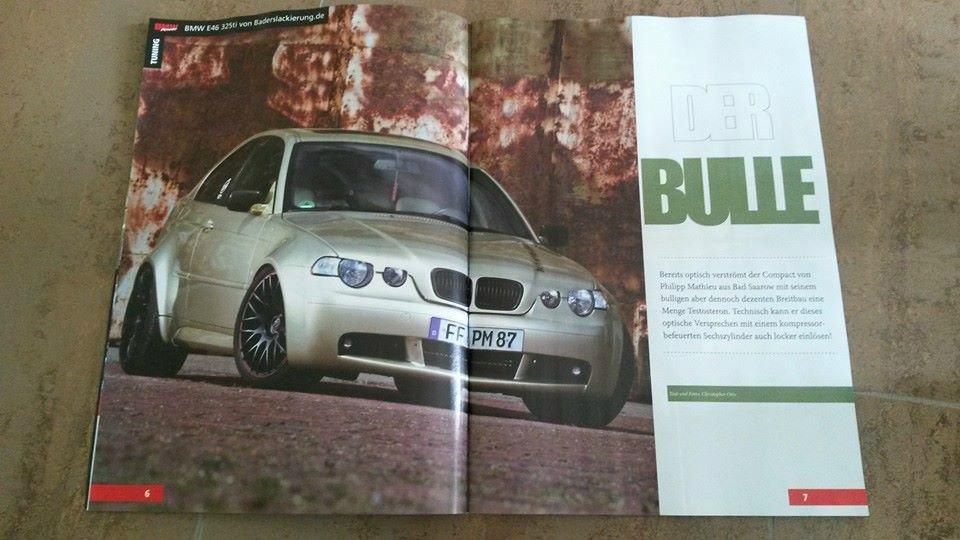 Supercharged Wide Body E46 325ti - 3er BMW - E46