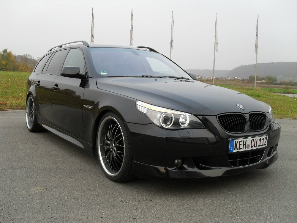 black e61 525i touring 5er bmw e60 e61 touring. Black Bedroom Furniture Sets. Home Design Ideas