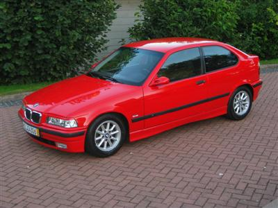 316 e36 compact rot tuning schlicht 3er bmw e36. Black Bedroom Furniture Sets. Home Design Ideas