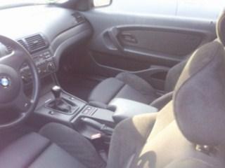 Schwarze Schönheit - 3er BMW - E46