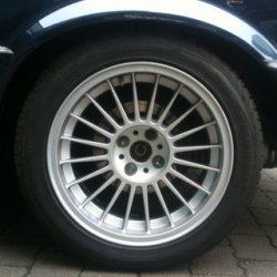 Alpina  Felge in 8x16 ET 28 mit Goodridge  Reifen in 225/45/16 montiert hinten Hier auf einem 3er BMW E30 325i (Cabrio) Details zum Fahrzeug / Besitzer