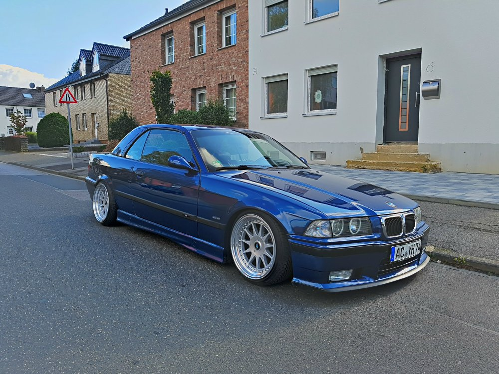 E36 328i Cabrio Avusblau On Air 3er Bmw E36 Quot Cabrio