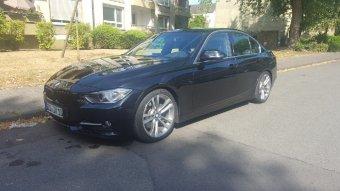 BMW Styling 397 Felge in 8x18 ET 35 mit Continental  Reifen in 225/40/18 montiert vorn Hier auf einem 3er BMW F30 328i (Limousine) Details zum Fahrzeug / Besitzer