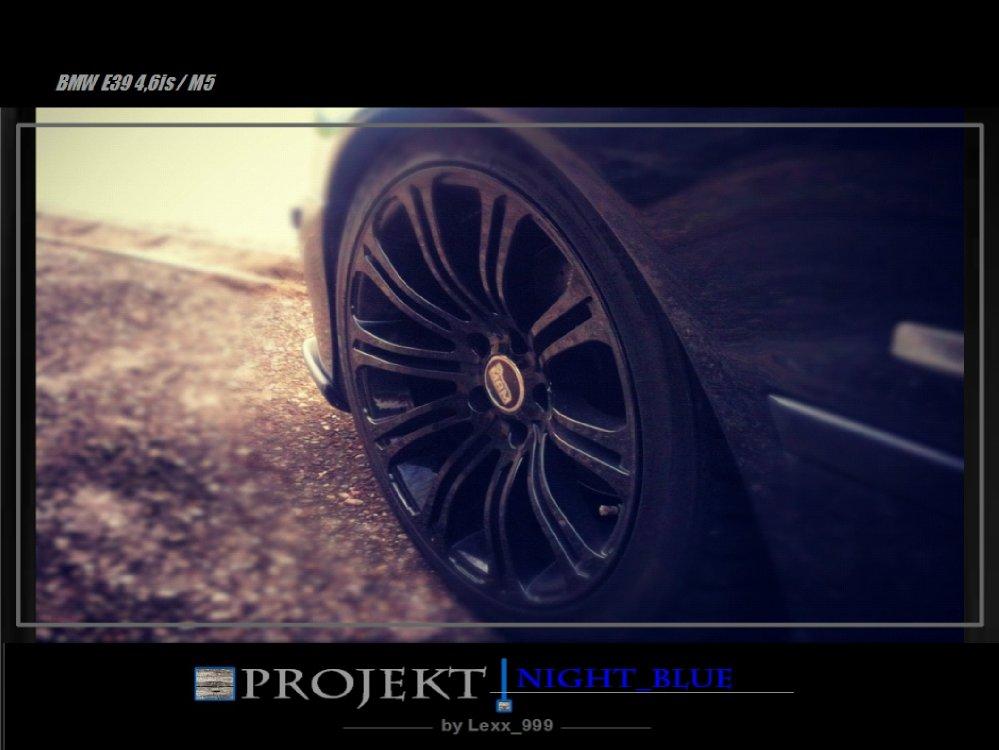 Projekt_Night Blue  4.6is / M5 - 5er BMW - E39