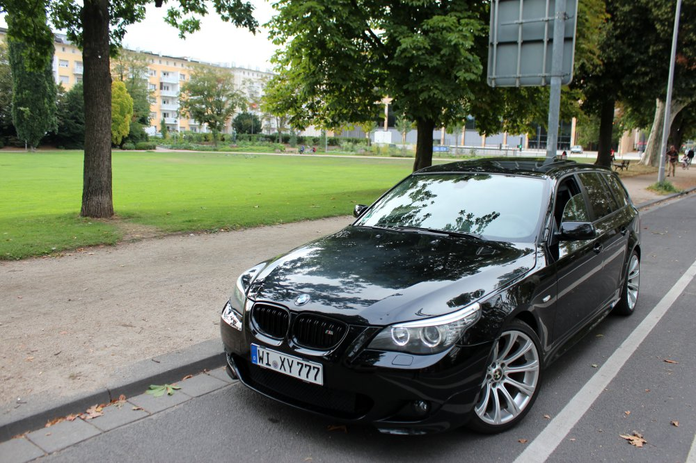 Familienkutsche Black Power - 5er BMW - E60 / E61