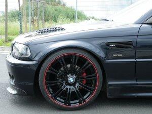 - NoName/Ebay -  Felge in 8.5x19 ET 35 mit - NoName/Ebay -  Reifen in 225/35/19 montiert vorn mit 5 mm Spurplatten Hier auf einem 3er BMW E46 320i (Coupe) Details zum Fahrzeug / Besitzer