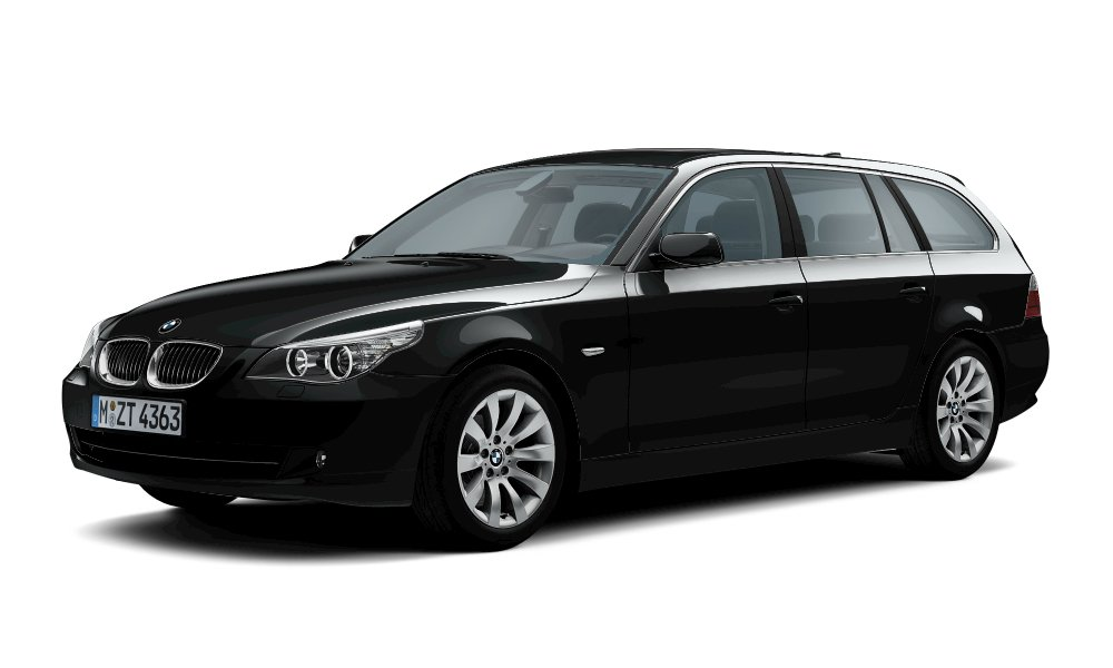 Familienkutsche Black Power - 5er BMW - E60 / E61
