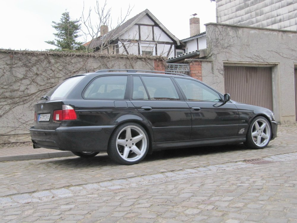 bmw e39 touring 18 zoll. Black Bedroom Furniture Sets. Home Design Ideas