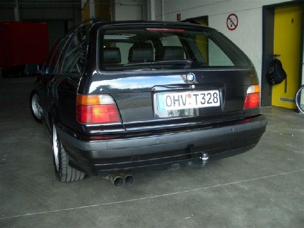 328i Touring / Update - Getriebeumbau - 3er BMW - E36 - heck.jpg