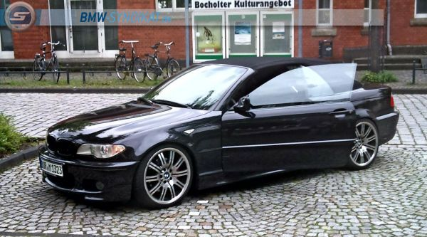 e46 330 cabrio 3er bmw e46 cabrio tuning fotos bilder stories. Black Bedroom Furniture Sets. Home Design Ideas