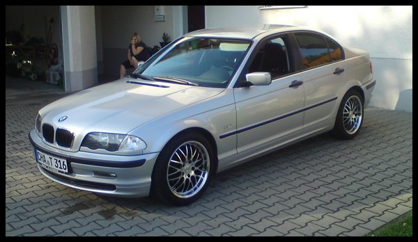 bmw 316i e46 3er bmw e46 limousine tuning fotos bilder stories. Black Bedroom Furniture Sets. Home Design Ideas