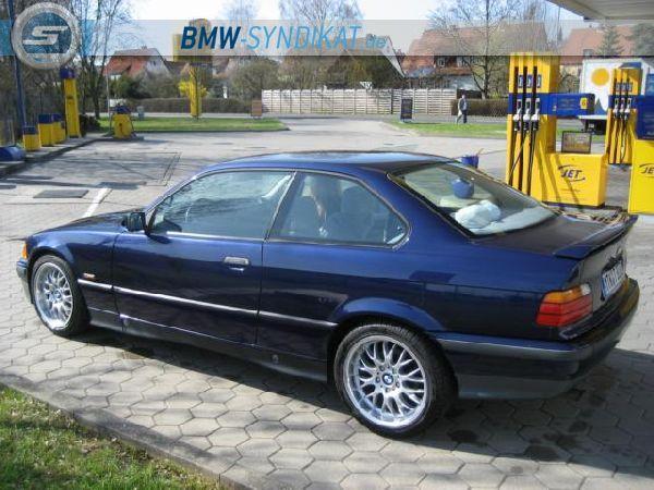 Bmw e36 coup mauritiusblau 3er bmw e36 coupe for Garage bmw bayern marignane