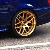 - NoName/Ebay - PDW Kaiser Felge in 9.5x19 ET 35 mit Hankook Ventus S1 EVO Reifen in 255/30/19 montiert hinten Hier auf einem 3er BMW E46 320i (Coupe) Details zum Fahrzeug / Besitzer