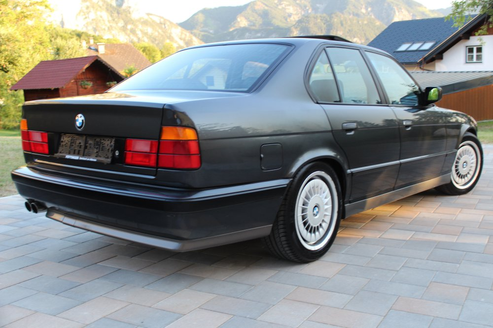 BMW E34 M5 3.6 Diamantschwarz - 5er BMW - E34