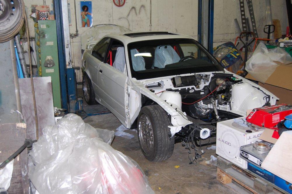 E36 M3 von Rohbaukarosserie -> S65 M3 Motor - 3er BMW - E36