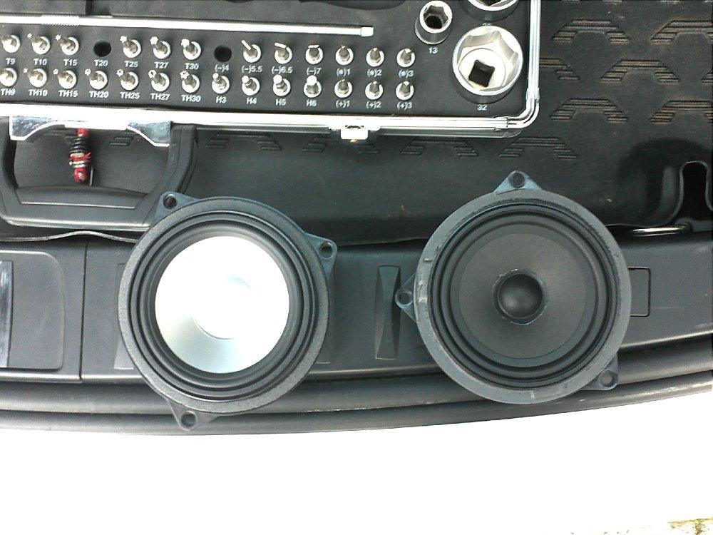 BMW 320d E91 Alpine Soundsystem - Fotos von CarHifi & Multimedia Einbauten
