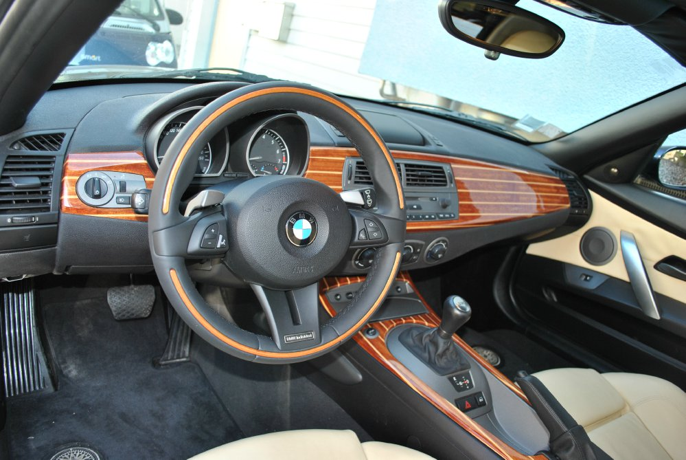 Z4 3 0 smg individual bmw z1 z3 z4 z8 z4 roadster for Interieur z4 e85
