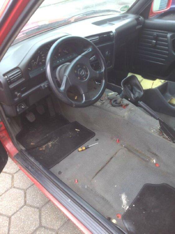 316i in brilliantrot - 3er BMW - E30