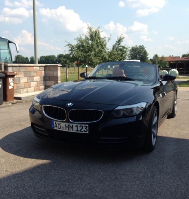 """Bmw Z4 Coupe Tuning: BMW Z4 SDrive23i Schwarz/Braun [ BMW Z1, Z3, Z4, Z8 ] """"Z4"""