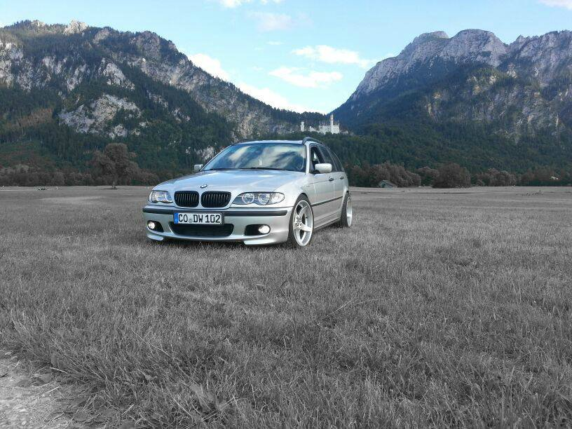 Mein Pambersbomber wird zum Sportstourer :) - 3er BMW - E46