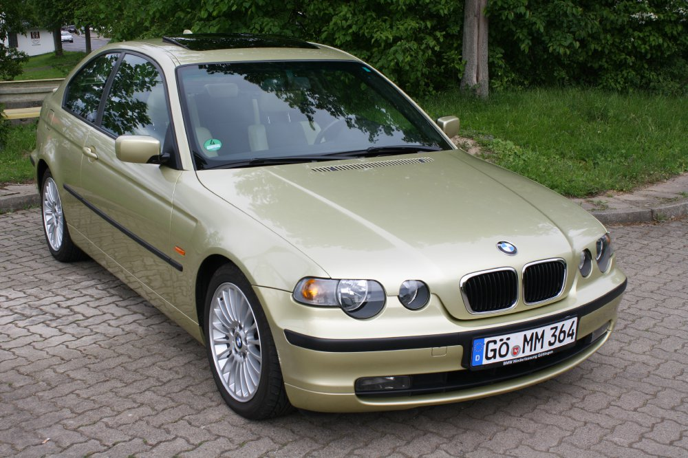 bmw 316ti compact in pistaziengr n 3er bmw e46. Black Bedroom Furniture Sets. Home Design Ideas