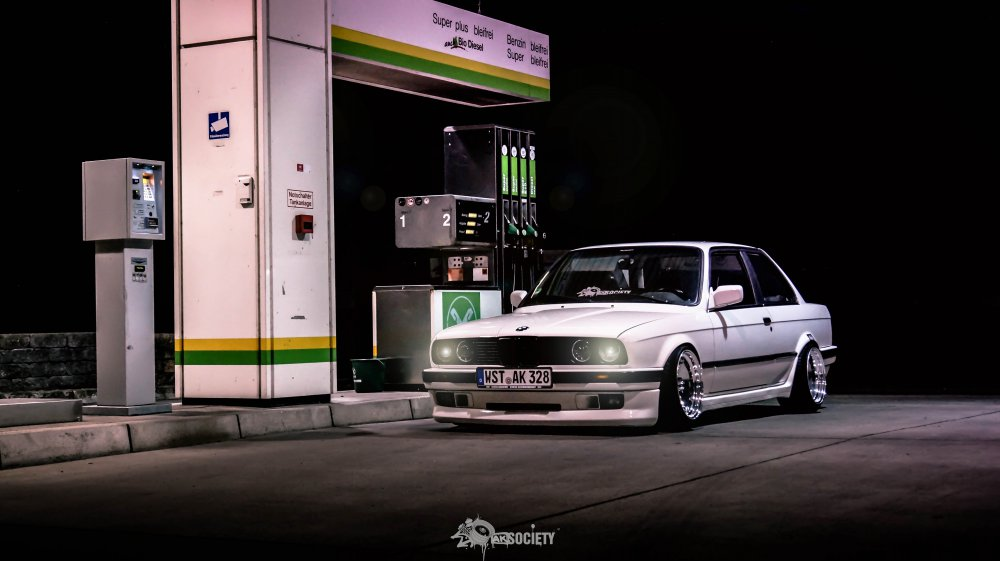340i e36 v8 m60b40 swap Bagged - 3er BMW - E36