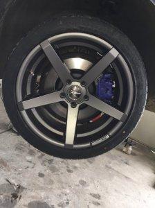 Z-Performance ZP.06 Felge in 9.5x19 ET 35 mit - Eigenbau - Accelera Reifen in 275/35/19 montiert hinten mit 10 mm Spurplatten Hier auf einem 5er BMW F10 525d (Limousine) Details zum Fahrzeug / Besitzer