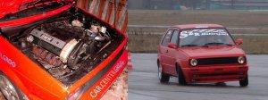 VW Golf II GTD Heckantrieb BMW Motor Video - Fremdfabrikate