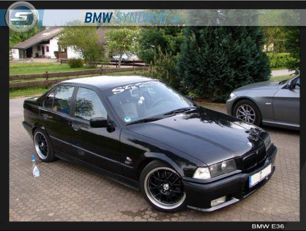 E36 328i Umbau , Fächer, Rennkat, Rial, Neon - 3er BMW - E36