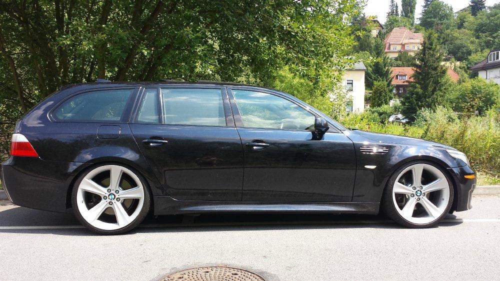Dresden's 8 Zylinder 21zoll US M5 vorbei - 5er BMW - E60 / E61