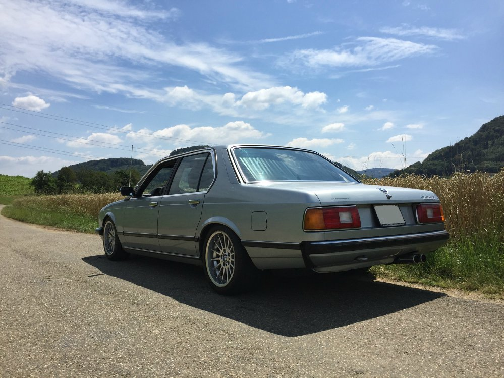 BMW 735i E23 Sharknose - Fotostories weiterer BMW Modelle