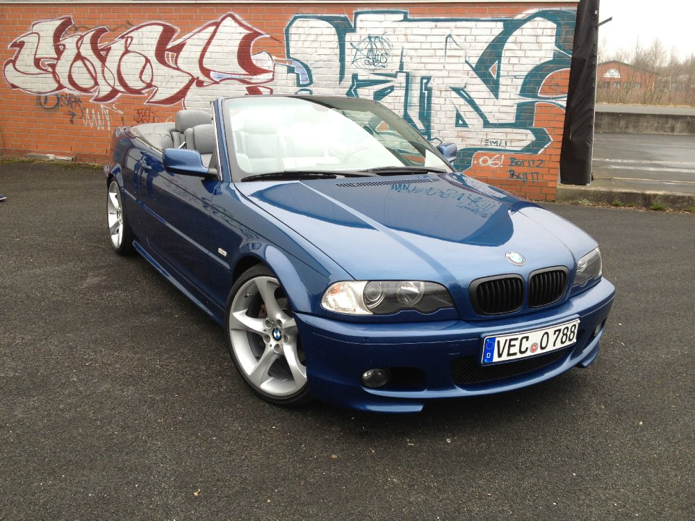 bmw e46 cabrio m3 heck neu sternspeiche 230 3er bmw e46 cabrio tuning fotos. Black Bedroom Furniture Sets. Home Design Ideas