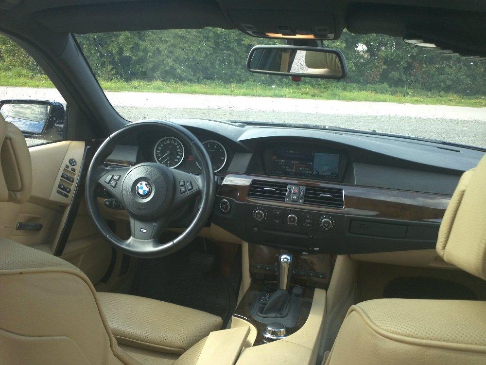 550iA Touring Mysticblau [ 5er BMW - E60 / E61 ...