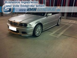 bmw e46 320ci 3er bmw e46 coupe tuning fotos bilder stories. Black Bedroom Furniture Sets. Home Design Ideas