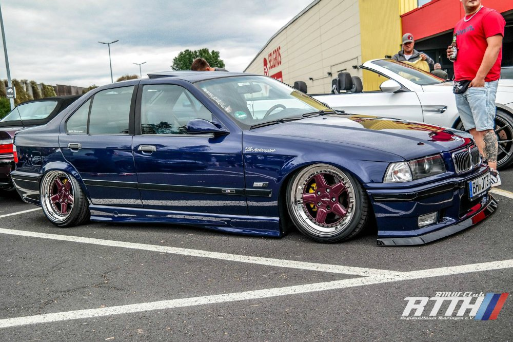 Blue Lady MK Motorsport New Wheels - 3er BMW - E36