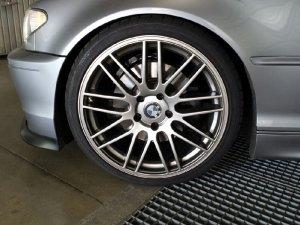 ASA Felgen GT1 Felge in 8.5x19 ET 37 mit Continental Sport Contact 3 Reifen in 235/35/19 montiert vorn Hier auf einem 3er BMW E46 330i (Coupe) Details zum Fahrzeug / Besitzer